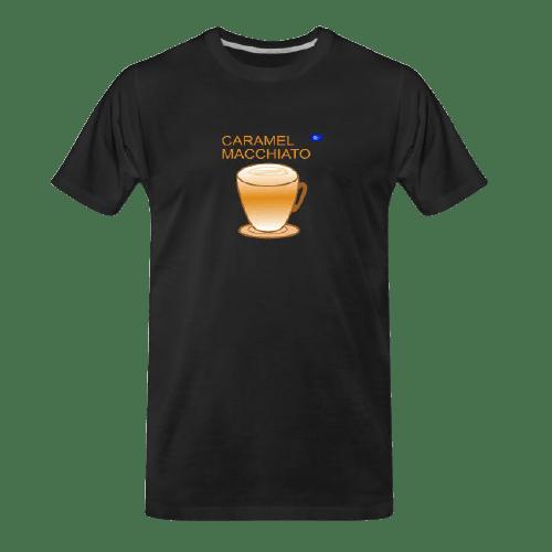 Coffee t-shirts: Caramel Macchiato - coffeee design