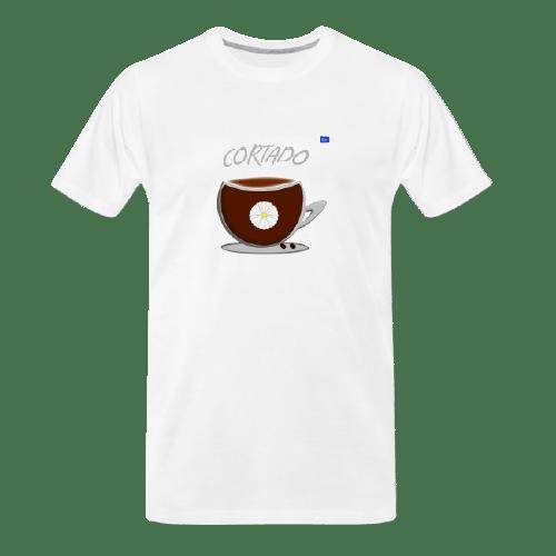 Coffee t-shirts: Cortado - coffee design