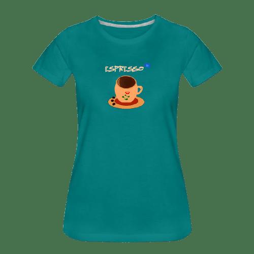 Coffee t-shirts: Espresso coffee design #2