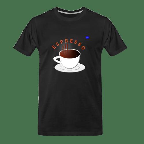 Coffee t-shirts: Espresso coffee design #1