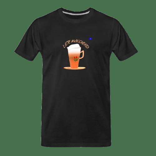 Coffee t-shirts: Latte Macchiato - coffee design
