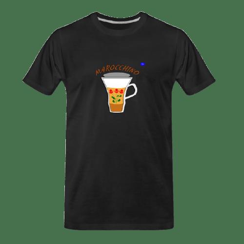 Coffee t-shirts: Marocchino coffee design