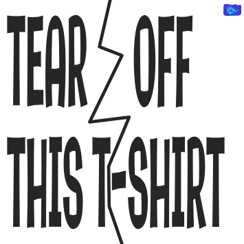 Funny designs - Tear off this t-shirt