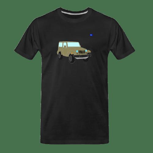 Off-road car graphic t-shirt #2
