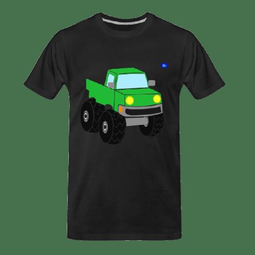 Off-road car design graphic t-shirt #1