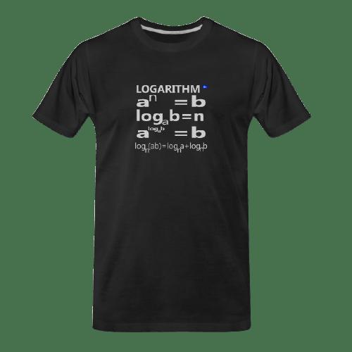 Logarithm math t shirt for students and maths teachers