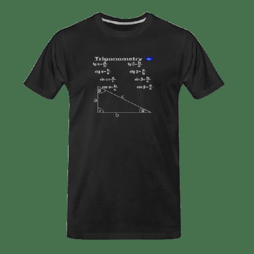 Trigonometry math t shirt for students and maths teachers