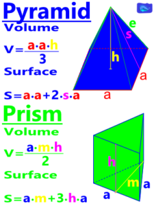 pyramid and prism