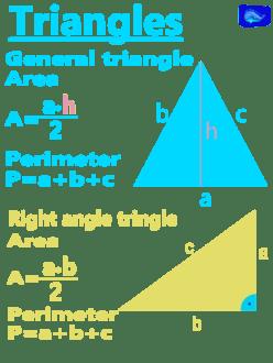 Math designs: triangles