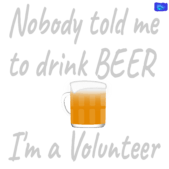 Attention, Beer-drinkers - funny beer graphic
