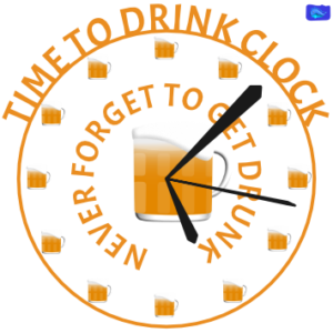 Time to drink clock
