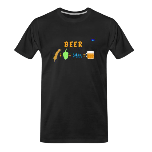 components of beer - funny beer t shirts
