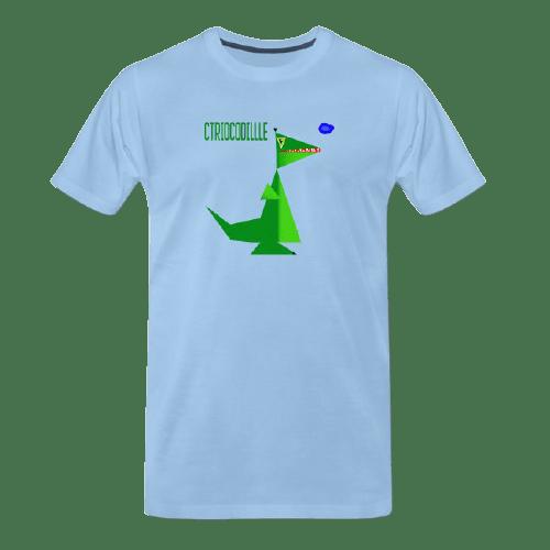 Funny animal tees - crocodile tee