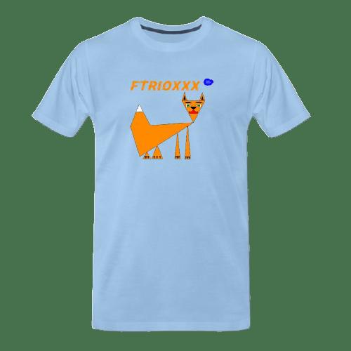 Funny animal t shirts - fox tee