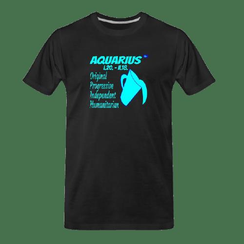Aquarius astrology design t shirt