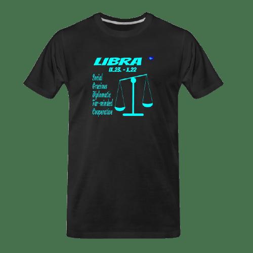Libra astrology design t shirt