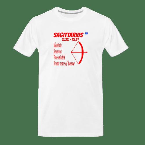 Sagittarius astrology design t shirt