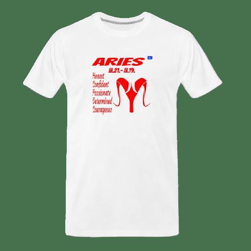 Aries astrology design t shirt