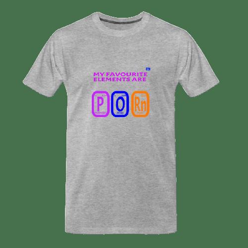 cool Chemistry designs t-shirts, P O Rn - funny tshirt