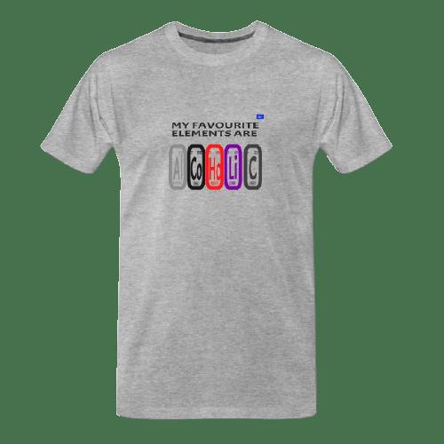 cool Chemistry designs t-shirts, Al Co Ho Li C - funny tshirt