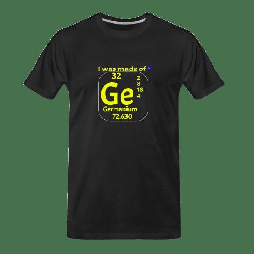 cool Chemistry designs t-shirt, Germanium designed t shirt