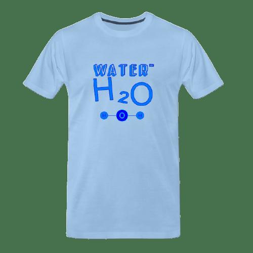 cool Chemistry designs t-shirt, Water, i.e. H2O designed t-shirt