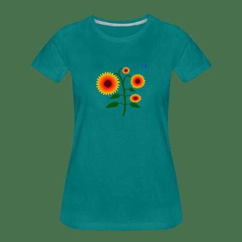 sunflowers art graphic shirt