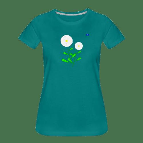 Daisies art graphic shirt