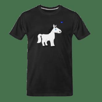 white pony tee