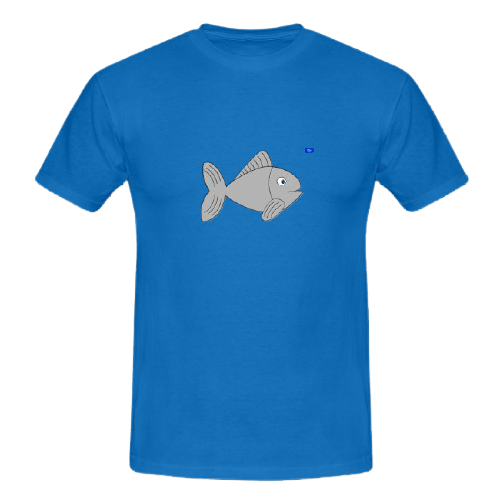Simple fish graphic art, fishing design t shirts