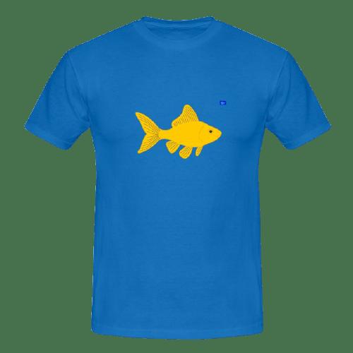 Goldfish art graphic, fishing design t shirts