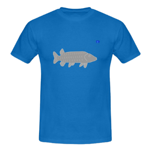 Pike art graphic, fishing design t shirts
