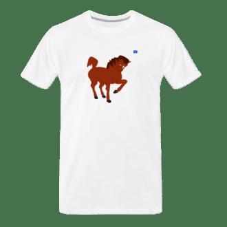 brown horse tee
