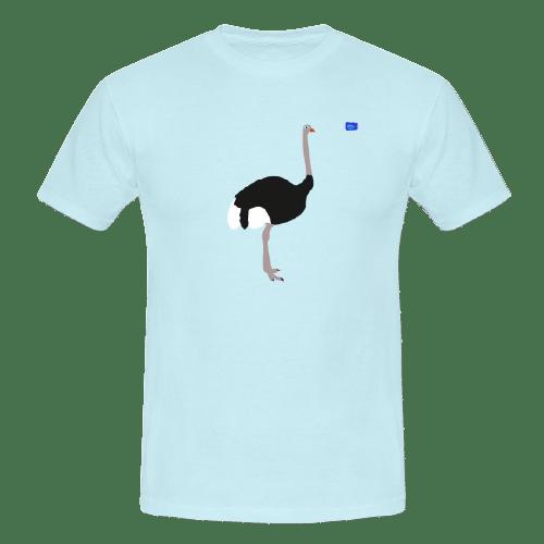 Ostrich - bird art design t-shirt
