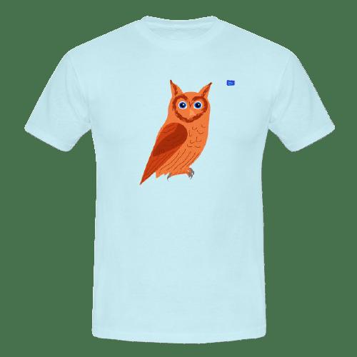 Owl - bird art design t-shirt