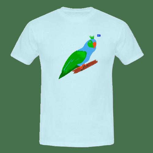 Parrot - bird art design t-shirt