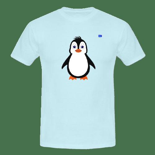 Penguin - bird art design t-shirt