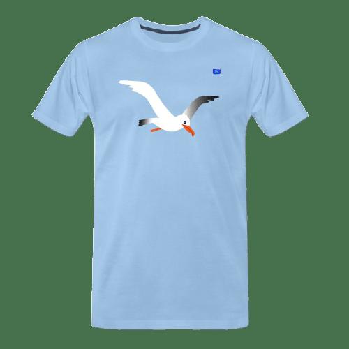 Seagull - bird art design t-shirt