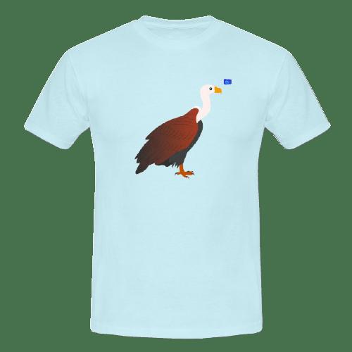 Vulture - bird art design t-shirt